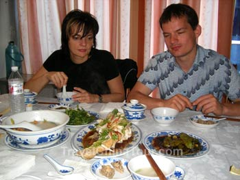ming tombs lunch