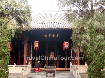 Wuhou Ci zhuge lian hall entrance