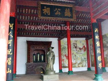 haikou wugong temple tour