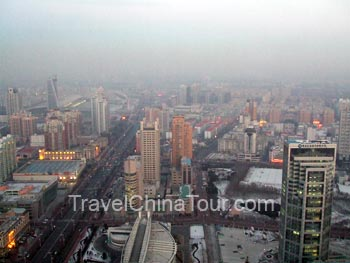 View of Harbin from Dragon Tower