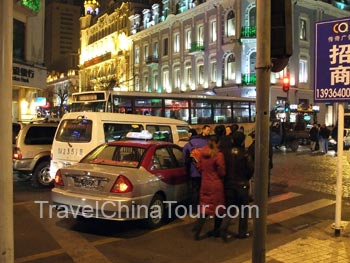 Car accident at ZhongYang Street Intersection