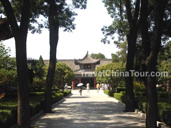 stone tablet museum in xian