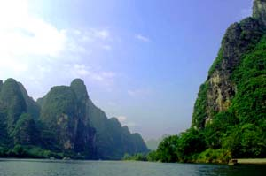 li jiang river tour cruise